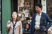 Kelly Macdonald & Irrfan Khan.<br /> Puzzle (2018)<br /> *Filmstill - Editorial Use Only*<br /> CAP/RFS<br /> Image supplied by Capital Pictures