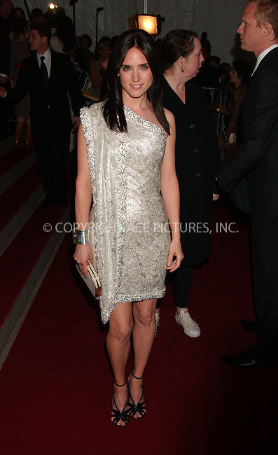 """WWW.ACEPIXS.COM................May 7 2007, New York City....JENNIFER CONNELLY....Arrivals at the 2007 Costume Institute Benefit Gala """"Poiret: King Of Fashion"""" at the Metropolitan Museum of Art. ....Byline:  KRISTIN CALLAHAN - ACEPIXS.COM....For information please contact:....Philip Vaughan, 212 243 8787 or 646 769 0430..Email: info@acepixs.com..Web: WWW.ACEPIXS.COM"""