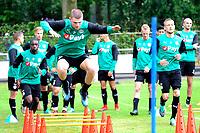 NORG - Voetbal, Trainingskamp FC Groningen, voorbereiding seizoen 2018-2019, 10-07-2018,  FC Groningen speler Django Warmerdam