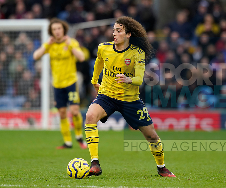 Matteo Guendouzi of Arsenal during the Premier League match at Turf Moor, Burnley. Picture date: 2nd February 2020. Picture credit should read: Andrew Yates/Sportimage