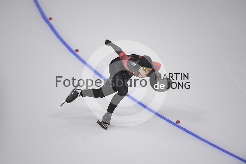 OLYMPIC GAMES: PYEONGCHANG: 18-02-2018, Gangneung Oval, Long Track, 500m Ladies, Heather McLean (CAN), ©photo Martin de Jong