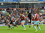 Crystal Palace's Christian Benteke in action during the premier league match at the Turf Moor Stadium, Burnley. Picture date 10th September 2017. Picture credit should read: Paul Burrows/Sportimage