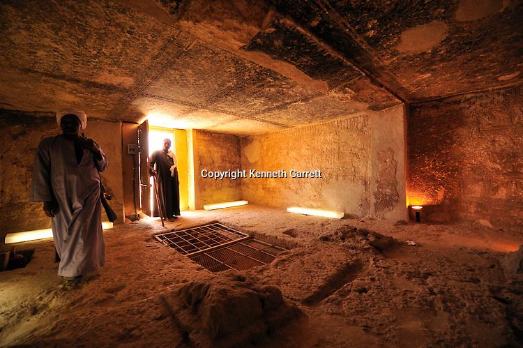Zahi Hawass Secret Egypt Travel Guide; Egypt; archaeology; Middle Kingdom; Beni Hassan; Tombs, interior