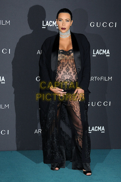 7 November 2015 - Los Angeles, California - Kim Kardashian West. LACMA 2015 Art+Film Gala held at LACMA.  <br /> CAP/ADM/BP<br /> &copy;BP/ADM/Capital Pictures