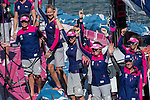 14Mar2015 - New Zealand Herald In-Port Race Auckland - Team SCA celebration