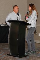 Randy Hembrey of IMSA with Shea Adam