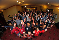 Masterton District Council celebrates winning the Beautiful Awards best large town at Masterton Club in Masterton, New Zealand on Friday, 27 October 2017. Photo: Dave Lintott / lintottphoto.co.nz