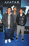 """HOLLYWOOD, CA. - December 16: Cuba Gooding, Jr. and sons Mason and Spencer attend the Los Angeles premiere of """"Avatar"""" at Grauman's Chinese Theatre on December 16, 2009 in Hollywood, California."""