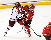 The St. Lawrence University Saints defeated the Boston College Eagles 4-0 on Friday, January 15, 2009, at Conte Forum in Chestnut Hill, Massachusetts.