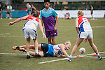 Swire Properties vs Holman Fenwick Willan during the Plate Semi Final part of Swire Touch Tournament on 03 September 2016 in King's Park Sports Ground, Hong Kong, China. Photo by Marcio Machado / Power Sport Images