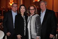 NWA Democrat-Gazette/CARIN SCHOPPMEYER Bill and Kathryn Warren (from left) and Debbie and Tim Ogg help support the Jackson L. Graves Foundation.