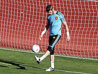 2012.07.10 Entrenamiento seleccion española, las rozas , JJOO