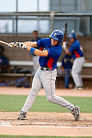Kellin Deglan - AZL Rangers - 2010 Arizona League.Photo by:  Bill Mitchell/Four Seam Images..