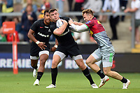 Matt Gallagher of Saracens. Premiership Rugby 7s (Day 2) on July 28, 2018 at Franklin's Gardens in Northampton, England. Photo by: Patrick Khachfe / Onside Images