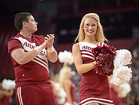 NWA Democrat-Gazette/ANDY SHUPE<br /> Arkansas Friday, Oct. 20, 2017, during the second half of play in Bud Walton Arena. Visit nwadg.com/photos to see more photographs from the game.