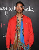 """08 February 2020 - Hollywood, California - Alfred Enoch. """"How to Get Away with Murder"""" Series Finale at Yamashiro. Photo Credit: Billy Bennight/AdMedia"""