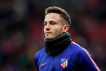 Saul Niguez Esclapez of Atletico de Madrid warms up prior to the La Liga 2018-19 match between Atletico de Madrid and RCD Espanyol at Wanda Metropolitano on December 22 2018 in Madrid, Spain. Photo by Diego Souto / Power Sport Images