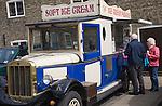 Asquith ice cream van vehicle in Ely, Cambridgeshire, England