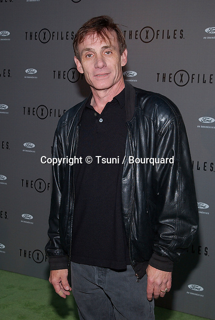 """Steve Railback arriving at the Series Final Wrap Party for """" X-Files"""". The party was at the House of Blues in Los Angeles. April 27, 2002.           -            RailsbackSteve31.jpg"""