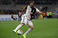 Gonzalo Higuain of Juventus <br /> Milano 6-10-2019 Stadio Giuseppe Meazza <br /> Football Serie A 2019/2020 <br /> FC Internazionale - Juventus FC <br /> Photo Federico Tardito / Insidefoto