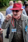 Roman Catholic heckler with rosary beads, Speakers' Corner, Hyde Park, London.