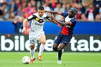 Blaise Matuidi (psg) vs  Fatih Atik (Guingamp) <br /> Football Calcio 2013/2014<br /> Ligue 1 Francia<br /> Foto Panoramic / Insidefoto <br /> ITALY ONLY