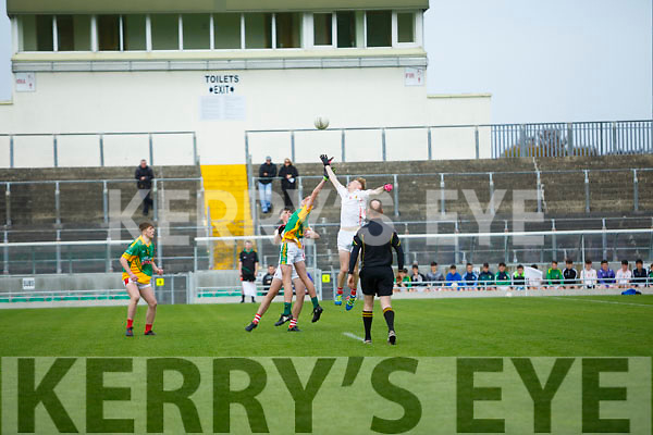 Lee Strand U16 County District Championship Football Cup Final East Kerry V West Kerry Throw in   at Austin Stacks Park on Sunday