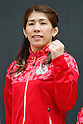 Saori Yoshida (JPN), MAY 26, 2016 - : A press conference about presentation of Japan national team official sportswear for Rio de Janeiro Olympics 2016 in Tokyo, Japan. (Photo by Sho Tamura/AFLO SPORT)