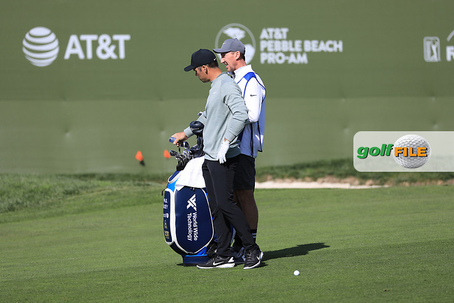 Paul Casey (ENG) during the first round of the AT&amp;T Pro-Am, Pebble Beach Golf Links, Monterey, California, USA. 07/02/2019<br /> Picture: Golffile | Phil Inglis<br /> <br /> <br /> All photo usage must carry mandatory copyright credit (&copy; Golffile | Phil Inglis)