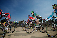 111th Paris-Roubaix 2013..Morgan Lamoisson (FRA)