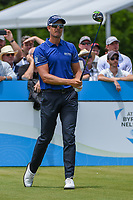 Henrik Stenson (SWE) watches his tee shot on 1 during round 1 of the AT&T Byron Nelson, Trinity Forest Golf Club, Dallas, Texas, USA. 5/9/2019.<br /> Picture: Golffile | Ken Murray<br /> <br /> <br /> All photo usage must carry mandatory copyright credit (© Golffile | Ken Murray)