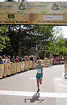 June 7, 2009:  Elite USA mountain runner, Brandy Erholtz, wins the Teva Mountain Games Spring Runoff Women's 10K, Vail, Colorado.