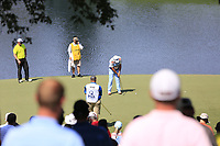 Scott Hend (AUS) putts on the 14th green during Thursday's Round 1 of the 2017 PGA Championship held at Quail Hollow Golf Club, Charlotte, North Carolina, USA. 10th August 2017.<br /> Picture: Eoin Clarke | Golffile<br /> <br /> <br /> All photos usage must carry mandatory copyright credit (&copy; Golffile | Eoin Clarke)