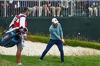 Jordan Spieth (USA) chips on to 8 during round 1 of the 2019 US Open, Pebble Beach Golf Links, Monterrey, California, USA. 6/13/2019.<br /> Picture: Golffile | Ken Murray<br /> <br /> All photo usage must carry mandatory copyright credit (© Golffile | Ken Murray)