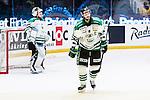 Stockholm 2014-03-21 Ishockey Kvalserien AIK - R&ouml;gle BK :  <br /> R&ouml;gles Andreas Lilja deppar<br /> (Foto: Kenta J&ouml;nsson) Nyckelord:  depp besviken besvikelse sorg ledsen deppig nedst&auml;md uppgiven sad disappointment disappointed dejected