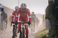 dust-catcher<br /> <br /> 50th GP Samyn 2018<br /> Quaregnon &gt; Dour: 200km (BELGIUM)