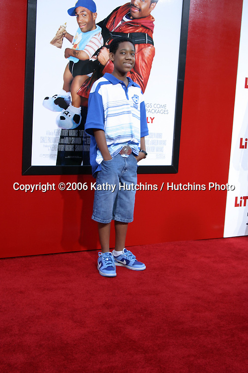 """Tyler James Williams.""""Little Man"""" Premiere.Mann's National Theater.Westwood, CA.July 6, 2006.©2006 Kathy Hutchins / Hutchins Photo...."""