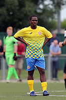 Amar Lewis of Harlow Town during Harlow Town vs Leyton Orient, Friendly Match Football at The Harlow Arena on 6th July 2019