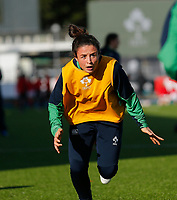 9th February 2020; Energia Park, Dublin, Leinster, Ireland; International Womens Rugby, Six Nations, Ireland versus Wales;Larissa Muldoon of Ireland warms up prior to kickoff