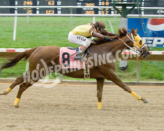 Ferber winning at Delaware Park on 9/7/09