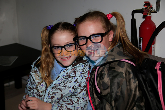 Alice Seery and Amy Reynolds<br /> at the Fancy dress in the Boomarang club.<br /> Picture: www.newsfile.ie