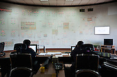 The despatch room at the Tbilisi headquarters of Telasi, one of Gerogia's three electricty distribution companies.
