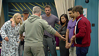 Celebrity Big Brother 2017<br /> Group<br /> *Editorial Use Only*<br /> CAP/KFS<br /> Image supplied by Capital Pictures