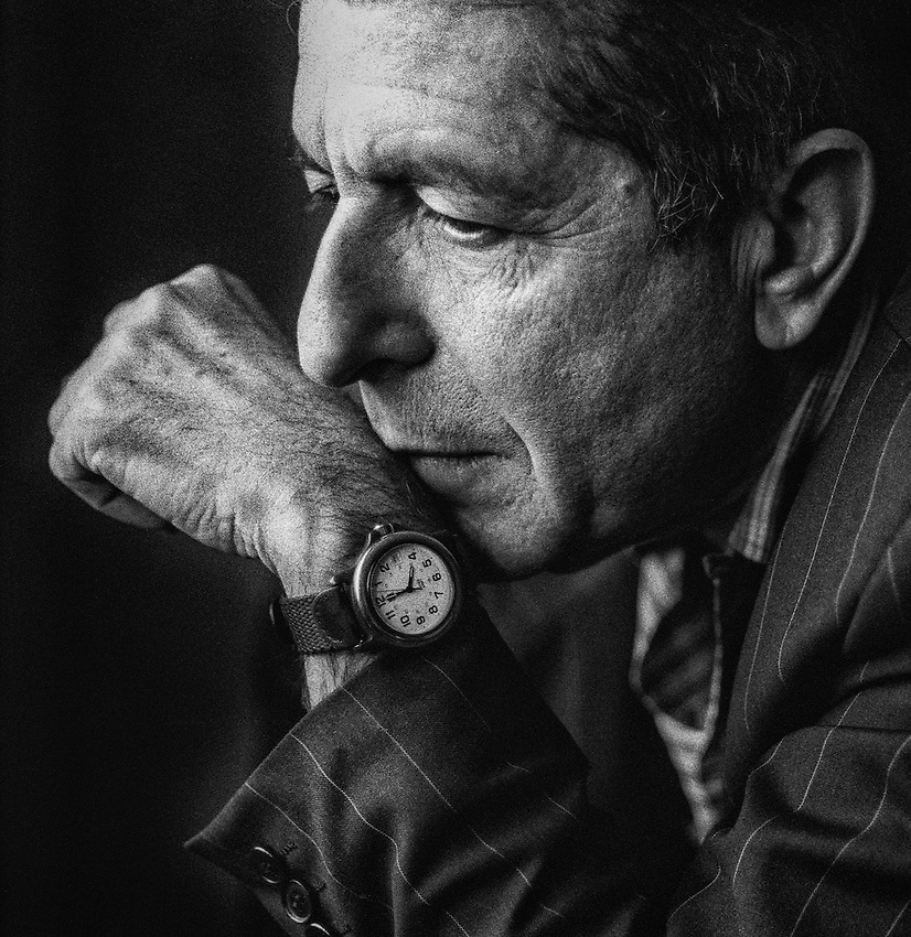 Available as a 30x30 inch print, edition of 25, printed on archival hahnemuhle art photographic paper.<br /> <br /> $500.00 plus postage and handling<br /> Please contact the photographer directly.<br /> <br /> Leonard Norman Cohen, CC GOQ (born 21 September 1934) is a Canadian singer-songwriter, musician, poet, and novelist. His work often explores religion, isolation, sexuality, and interpersonal relationships. Cohen has been inducted into the American Rock and Roll Hall of Fame and both the Canadian Music Hall of Fame and the Canadian Songwriters Hall of Fame. He is also a Companion of the Order of Canada, the nation's highest civilian honour. In 2011 Cohen received Prince of Asturias Award for literature. Cohen has been described as belonging to the &quot;highest and most influential echelon of songwriters.