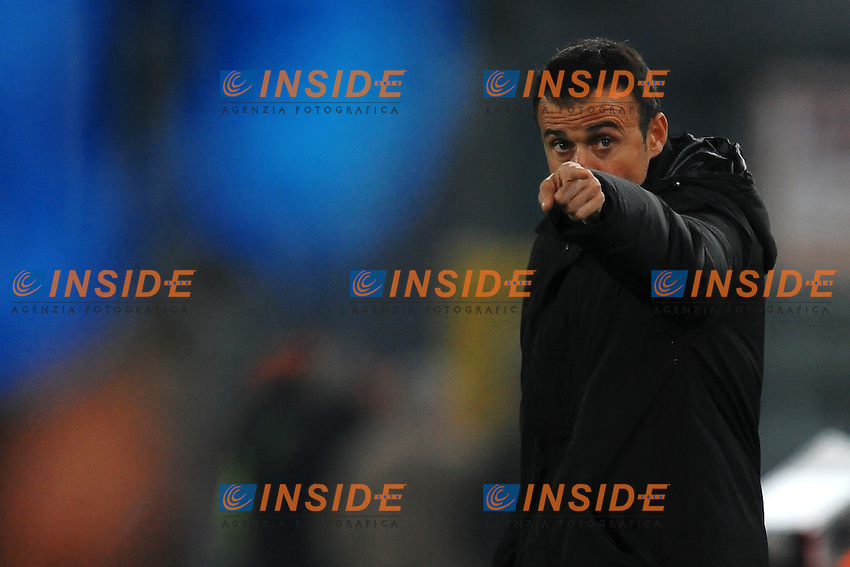 Luis ENRIQUE Allenatore Roma.Roma 20/11/2011 Stadio Olimpico.Football Calcio Serie A 2011/2012.Roma Vs Lecce.Foto Insidefoto Andrea Staccioli