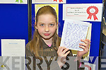 Winners of the Kerry county library writing competition Makayla Donovan, Muire Gan Smal, Castleisland,