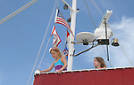 McKenna and Marlowe at 12th Annual SoapFest - Actors take a break on the Ramblin' Rose with Ken as the captain on May 15, 2010 on Marco Island, FLA. (Photo by Sue Coflin/Max Photos)