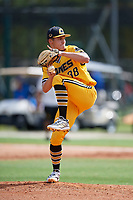 Gage Bradley (38) during the WWBA World Championship at the Roger Dean Complex on October 10, 2019 in Jupiter, Florida.  Gage Bradley attends Rossview High School in Clarksville, TN and is committed to Vanderbilt.  (Mike Janes/Four Seam Images)