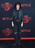 "28 June 2019 - Santa Monica, California - Rumer Willis. ""Stranger Things 3"" LA Premiere held at Santa Monica High School. <br /> CAP/ADM/BT<br /> ©BT/ADM/Capital Pictures"