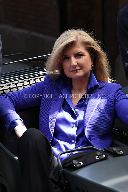 WWW.ACEPIXS.COM . . . . .  ....July 30, 2012...New York City........Arianna Huffington on the set of an Annie Leibovitz photo shoot on July 30, 2012 in New York City ....Please byline: Zelig Shaul - ACE PICTURES.... *** ***..Ace Pictures, Inc:  ..Philip Vaughan (212) 243-8787 or (646) 769 0430..e-mail: info@acepixs.com..web: http://www.acepixs.com